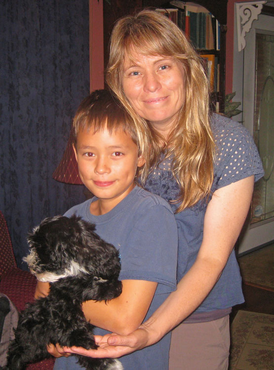 Shimmer, our last Havanese puppy of this litter, joins his forever family where he'll learn to be a therapy dog for a hearing impaired child. AWESOME!
