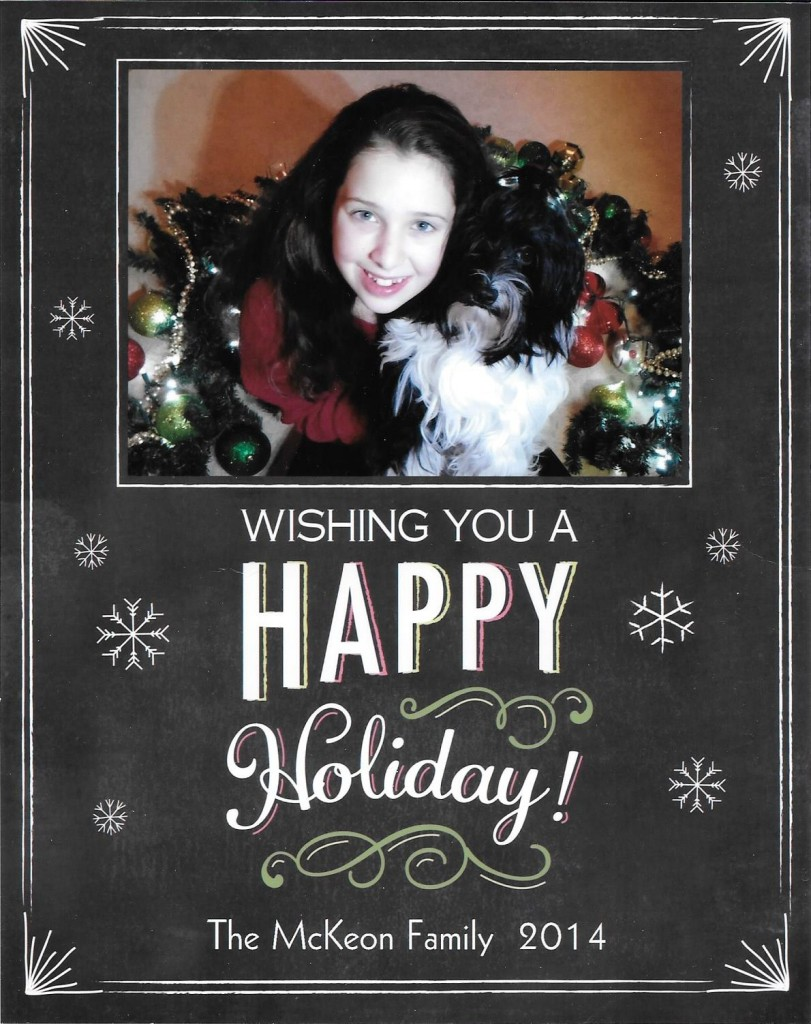Greetings from Havanese Dexter of the McKeon Forever Family